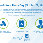 REMINDER: SATURDAY 10/21/17  IS NATIONAL CHECK YOUR MEDS DAY AT ISLAND PRESCRIPTION CENTER!